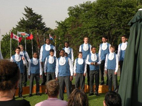 Los niños cantores de Drakensberg