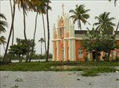 Iglesia flotante en las backwaters de Kumarakom: by flachi-gus, Views[213]