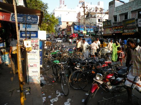 Madurai, calle
