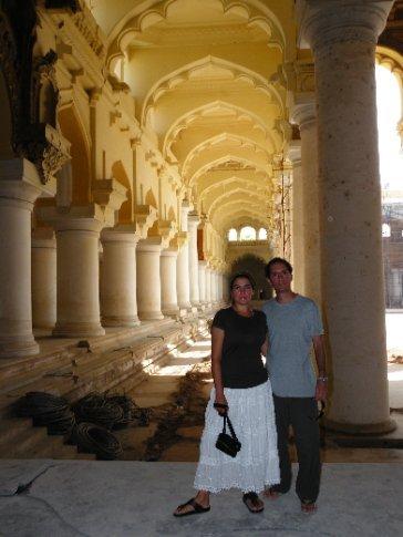 Madurai. Trotamundosz en el Palacio Thirumalai Nayak