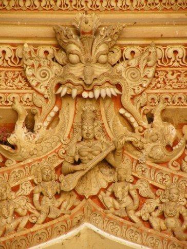 Madurai. Detalle del Palacio Thirumalai Nayak