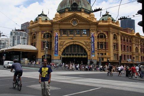 Estacion central de trenes de Melbourne