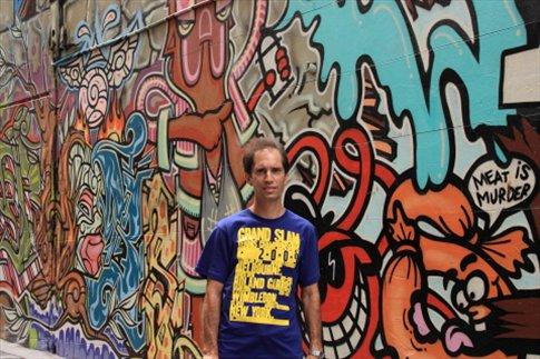 Grafitti en las paredes de Melbourne