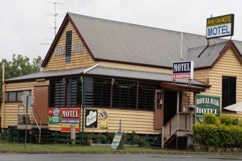 Hotel en las rutas de Australia