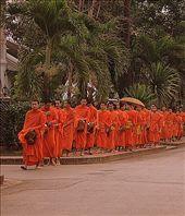 Ceremonia matutina de monjes recibiendo dádivas: by flachi-gus, Views[363]
