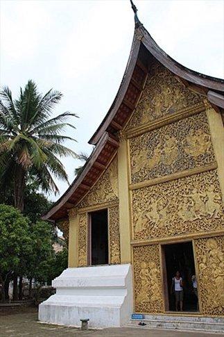 Wat Xieng Thong (uno de los monasterios más famosos de Luang Prabang)