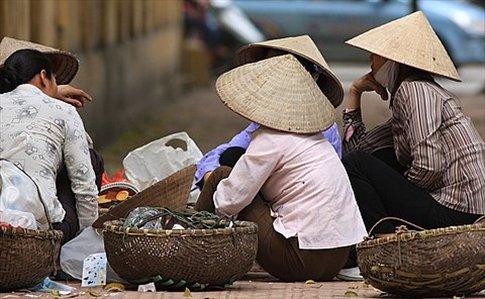 Escenas de la vida cotidiana de Hanoi