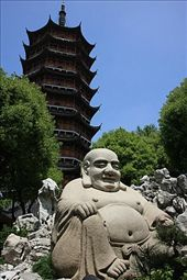 Suzhou North Temple pagoda: by flachi-gus, Views[411]
