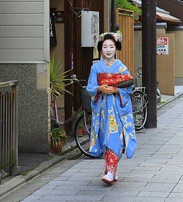 Geisha en Gion