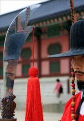 Cambio de guardia en palacio de Gyeongbokgung: by flachi-gus, Views[231]