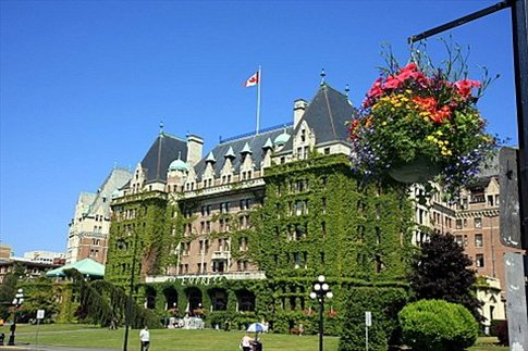 Victoria. The Empress (Fairmont Hotel)