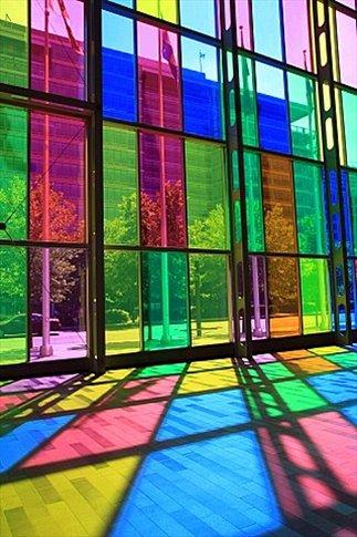 Interior del Palais des congrès de Montréal