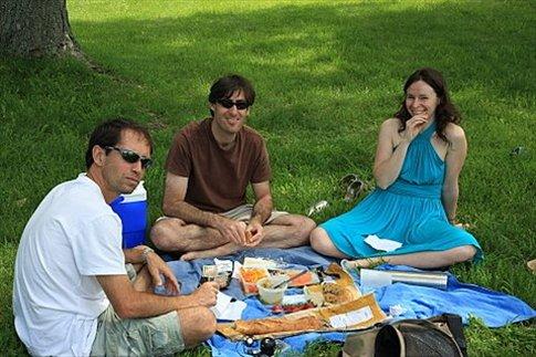 Pic nic en el parque Mont Royal