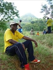 Dr. Esron Karimuribo looking primed for the challenge that awaits him behind. Esron was our kind and helpful contact at SUA (along with Prof. Kazwala) and invited me on the Bondwa walk : by flavie_sunny, Views[358]