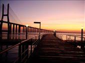 Photo taken at sunrise in