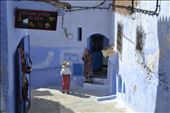 At Chefchauen, the voice of the two ladies is echoed on the narrow streets: by flopiescudero, Views[151]
