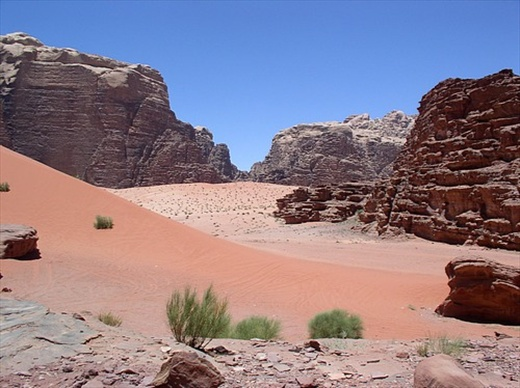 Wadi Rum. Stunning colours. A magical place.