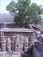 Kangra Fort, the remains of a temple. Very intricate carving.: by flyingpiglet, Views[2520]