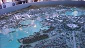 This is a great model of Canberra from the Canberra Museum: Capital Hill and Parliament House is centre-right, one apex of