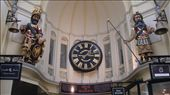 The Royal Arcade's highlight, statues of the mythological figures Gog and Magog, who strike their bells on the hour.: by flyted, Views[423]