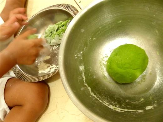 The dough making
