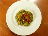 Leafy Green Mee Goreng: by footsteps, Views[185]