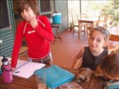 Whalesong Cafe.  Oliver and Oseanna. Dampier Peninsula: by fops, Views[274]