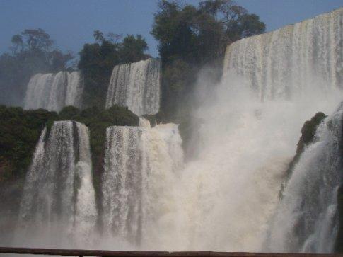 Iguazu Falls.  Puerto Iguazu, Argentina