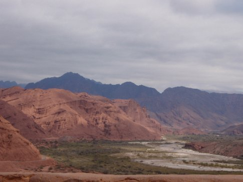 Enroute to Cafayate, Argentina