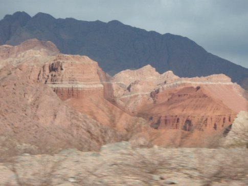 Roadtripping back from Cafayate to Salta, Argentina.