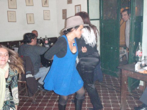 Dancing in the restaurant... love it! Salta, Argentina.
