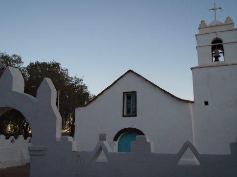 Desert people need God too.  San Pedro de Atacama, Chile.