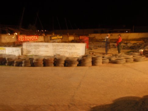 Our scary go-cart track, although not nearly as scary as the go-carts themselves.  Cusco, Peru.