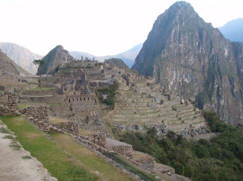 Postcard perfect.  Machu Picchu, Peru.