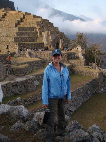 I am an Incan God.  Machu Picchu, Peru.