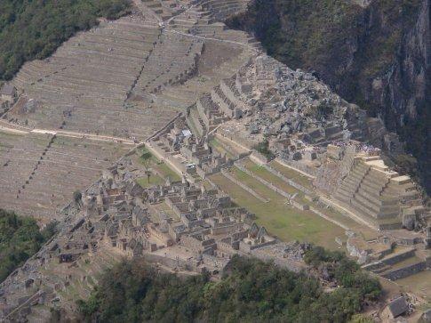 Little Machu Picchu.  Machu Picchu, Peru.