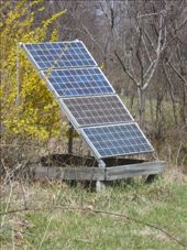 Solar panels. Everything is on solar energy at Light Morning: by francesanddavid, Views[224]