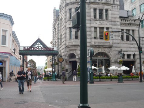 Nice downtown Victoria view