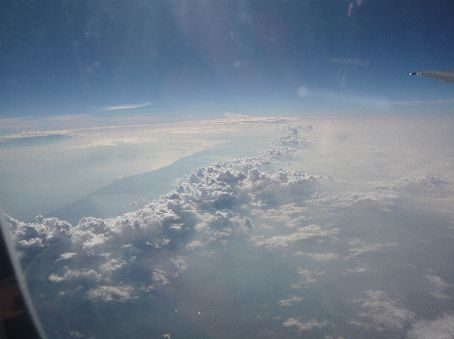 we thought these plane skyscapes were really neat (we have more...)