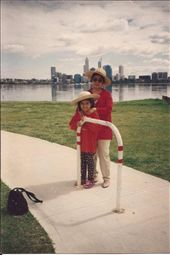 My grandmother and me (8) who taught my mom who taught me... seemed fitting.: by frank_ly, Views[97]