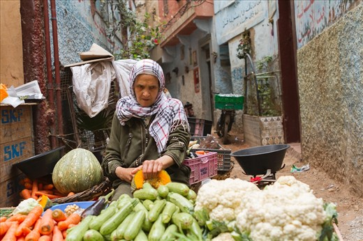 Those photos are taken in the medinas of Morocco. Every big city has its usually old neighbourhood of labyrinths, full of people, animal, food, spices, random goods; they really are more than just a market.