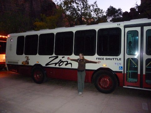 roser and the bus