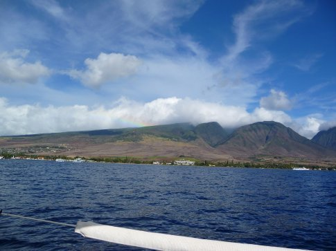 Maui from the cruiser...