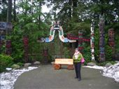 Mum at the totem poles: by freedom-sparkles, Views[160]