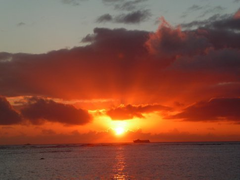 My final farewell to Hawaii, i am sad to leave you. i will remember you always, and i will back to visit you soon xxx e