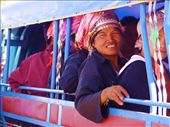 On the way to the Bac Ha markets, northern Vietnam . The markets provide an exciting opportunity for social interaction. People who otherwise live in remote and isolated tribal areas travel from far and wide for the monthly market day.: by freespirit5, Views[126]