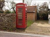 Coddenham-My first red telephone box sighting!: by frenchflower24, Views[198]