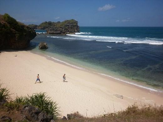 Private Beach at Watu Karung