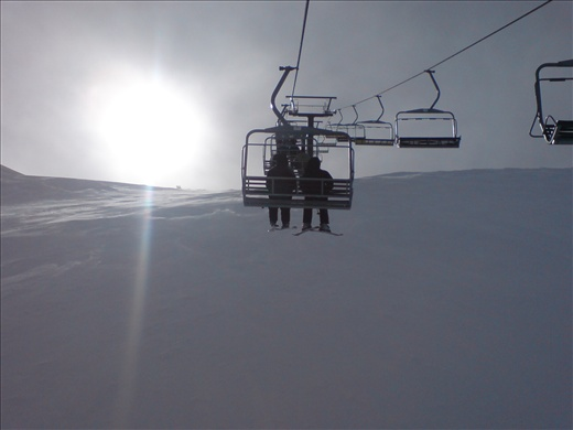 Mt Hutt, New Zealand- What goes up must come down!