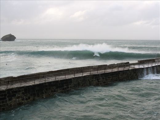 Cornwall, UK- Surfers making the most of the tail end of Hurricane Katia